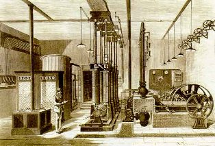 Концентрация производства электроэнергии в конце XIX - начале XX века