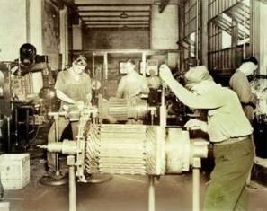 Начало исследования процессов в электрических машинах