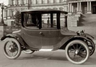 история электромобилей