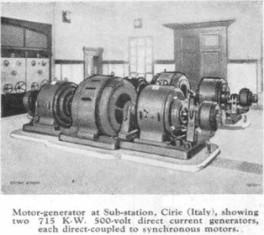 Первые электростанции
