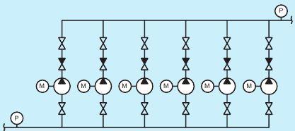 Пример структурной схемы автоматизации
