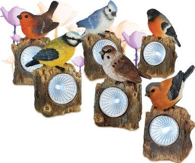 Необычные светильники для сада