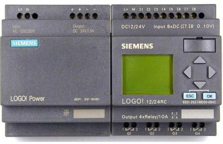 Использование ПЛК Siemens LOGO для решения задачи по освещению жилого дома