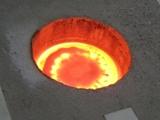 Индукционная печь для плавки цветных металлов