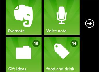 Вышла новая версия Evernote для Windows Phone 8