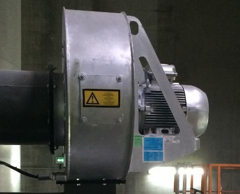 Электропривод вентилятора