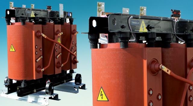 Сухие трансформаторы и трансформаторы с негорючим жидким наполнителем