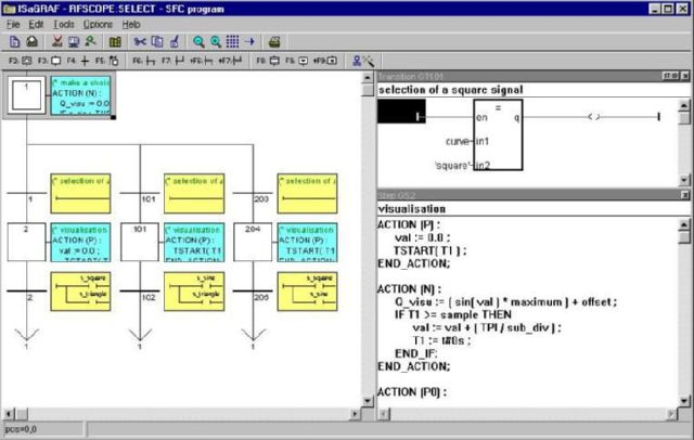 ISaGRAF - система программирования контроллеров