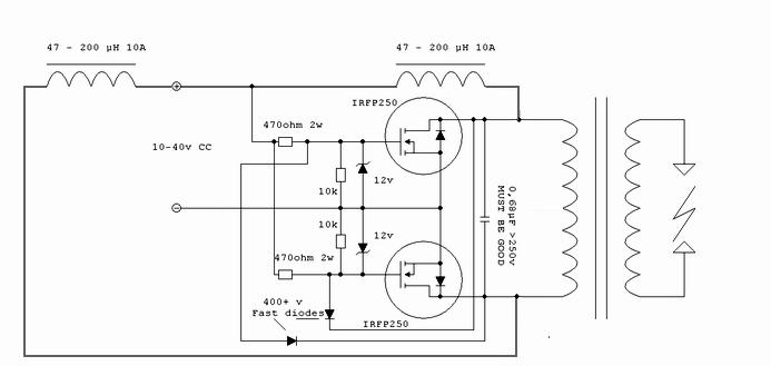 Мультивибратор на полевых транзисторах схема фото 945